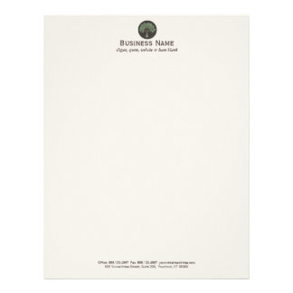 Wise Old Tree Logo \ Letterhead