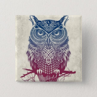 Wise One 2 Inch Square Button