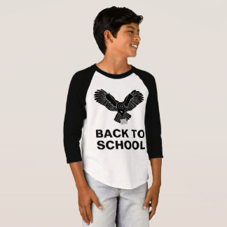 Wise Owl - Back To School funny customizable T-Shirt