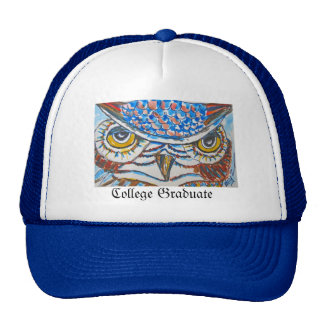 Wise Owl College Graduate Hat