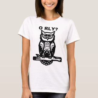 Wise Owl O RLY? T-Shirt