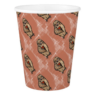 Wise Owl Paper Cup