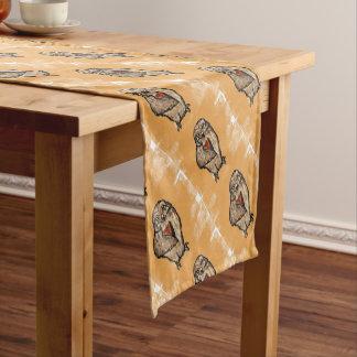 Wise Owl Short Table Runner