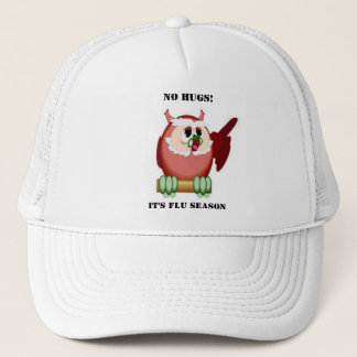 Wise Owl Speaks Trucker Hat