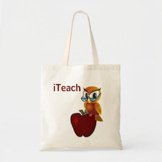 Wise Owl Teacher's Tote Bag