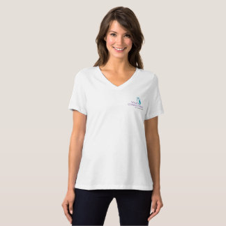 Wise Owl Women's Bella+Canvas Relaxed Fit V-Tee T-Shirt