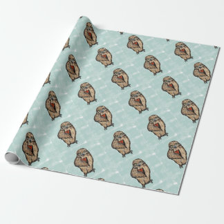Wise Owl Wrapping Paper