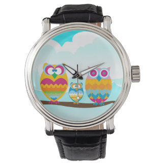 Wise Owls watch