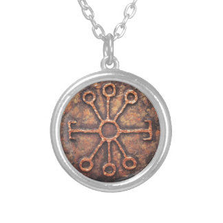 Wise Rune Silver Plated Necklace