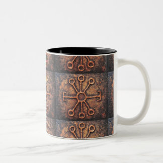 Wise Rune Two-Tone Coffee Mug