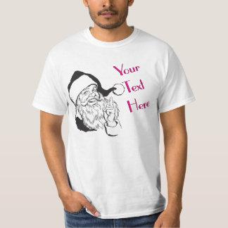 Wise Santa Claus Vintage Template T-Shirt
