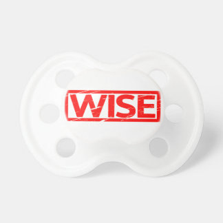 Wise Stamp Pacifier