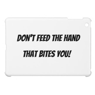 Wise twist on a popular quote. iPad mini cover