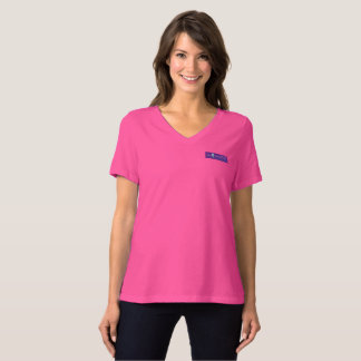 Wise Women's Bella+Canvas Relaxed Fit VNeck T T-Shirt