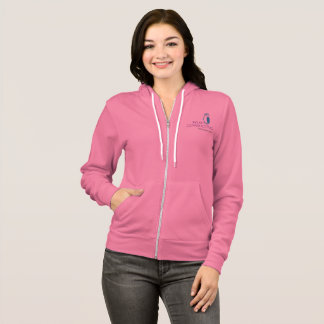 Wise Women's Bella+Canvas Zip Hoodie