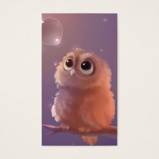 Wise Young Owl Business Card