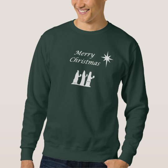Wisemen and Star Christmas Sweatshirt