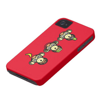 Wiser Apes iPhone 4 Cover