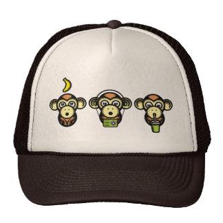 Wiser Apes Trucker Hat