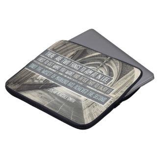 Wisest of Mankind Laptop Sleeve
