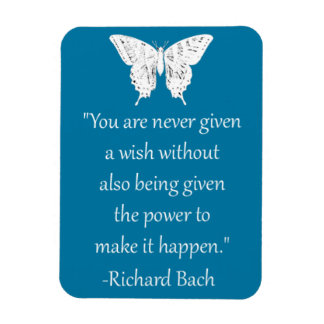 Wish Bach Quote Magnet