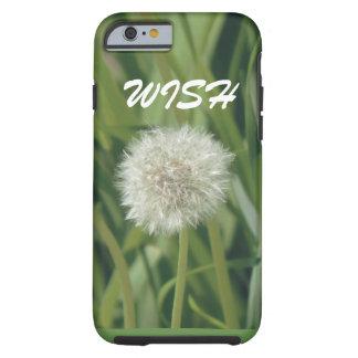 WISH dandelion phone case