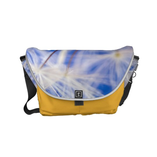 Wish Design Yellow Small Rickshaw Messenger Bag