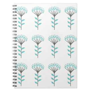 Wish flower notebook