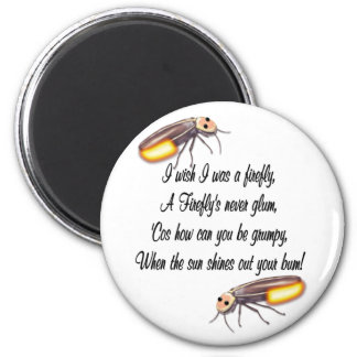 Wish I was a Firefly 2 Inch Round Magnet