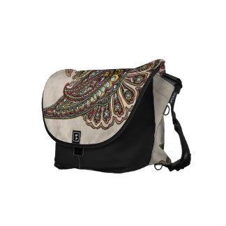 Wish Paisley Boho Gems Messenger Bag