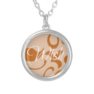 Wish Silver Plated Necklace