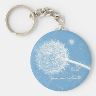 Wish upon a dandelion keychain