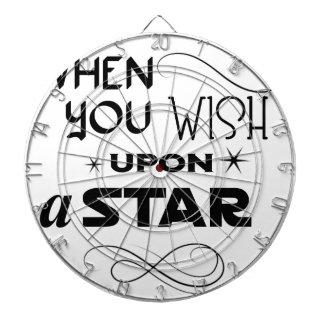wish upon a star dartboard