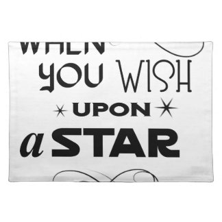 wish upon a star placemat