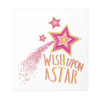 Wish Upon Star Notepads