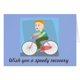Wish you a speedy recovery card