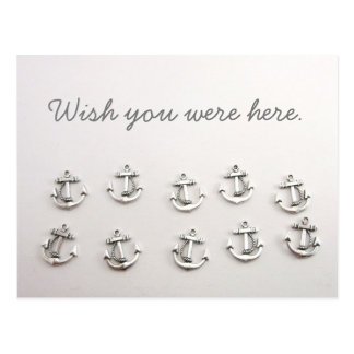 Wish You Were Here Anchor Postcard