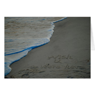 Wish You Were Here- Beach Cards