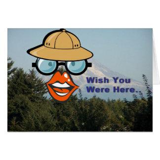 Wish You were Here... Greeting Card