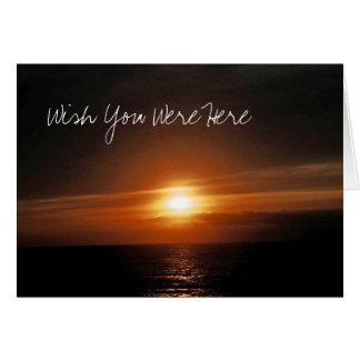Wish You Were Here Cards