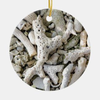 Wish you were here ceramic ornament