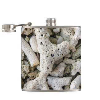 Wish you were here hip flask