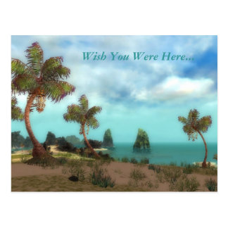 Wish You Were Here...in GW Postcard