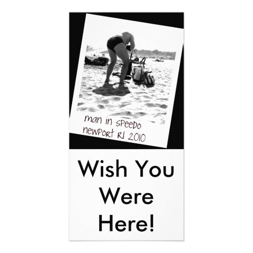 Wish You Were Here! Photo Card Template