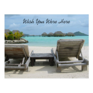 Wish You Were Here Postcard