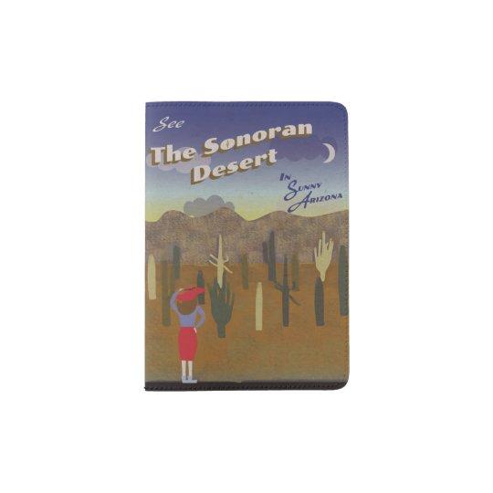 """Wish You Were Here"" Sonoran Desert Passport Holder"