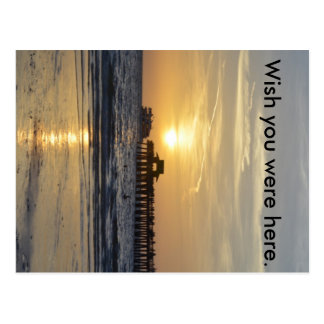 Wish you were here Sunset Postcards