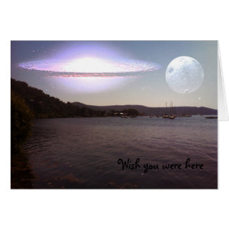 Wish you were here - where the Hawkesbury River is Greeting Cards