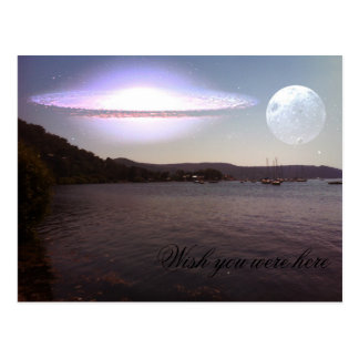 Wish you were here - Where the Hawkesbury River is Post Card
