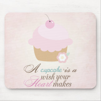 Wish your heart makes - Cupcake Mouse Pad